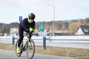 Ultra cykelløb omkring Fjorden