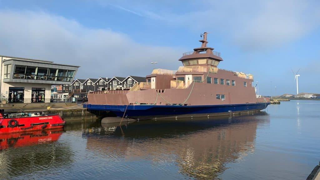 ÆrøXpressen er ankommet til Hvide Sande