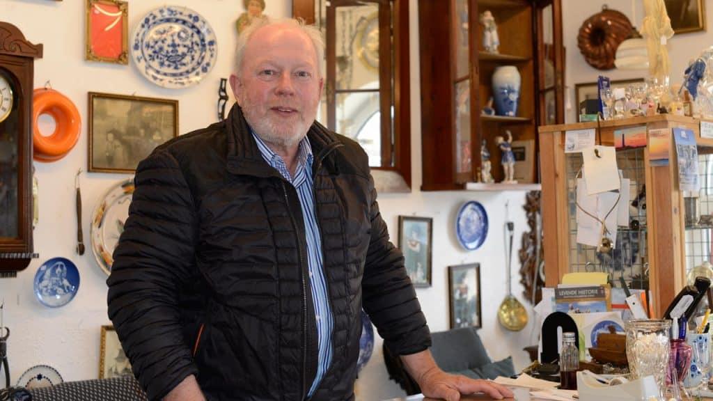 Marskandiseren i Hvide Sande afslutter 36 år i branchen