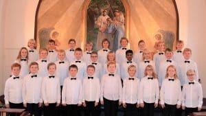 Sopran-sang af Haderslev Drengekors yngste medlemmer i Helligåndskirken