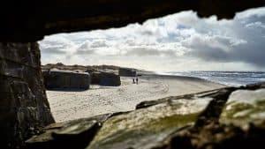Bunkers ved Houvig ved Søndervig