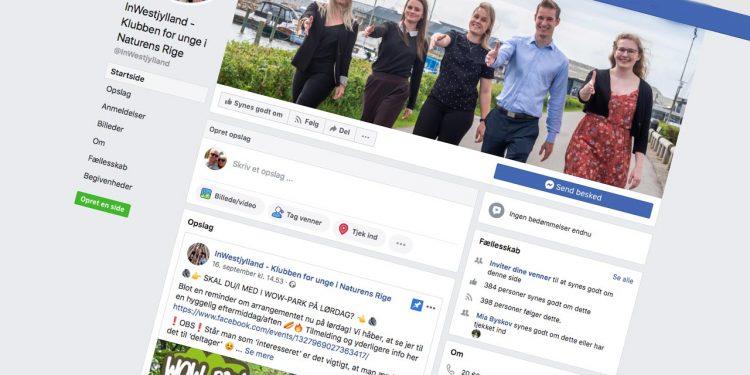 facebook siden InWestjylland