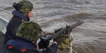 hjemmeværnet skal støtte britisk brigade i weekenden