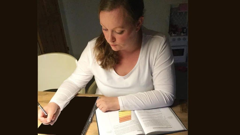 Lisbeth Hjære Jakobsen fik muligheden for at koncentrere sig om studierne.