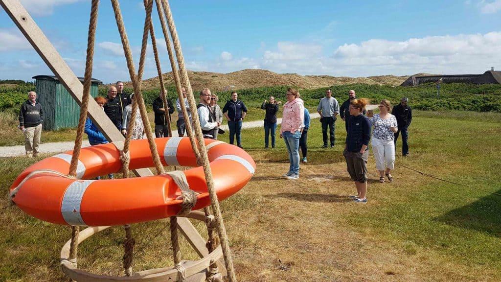 redningsøvelse på Abelines gaard hver onsdag i oktober