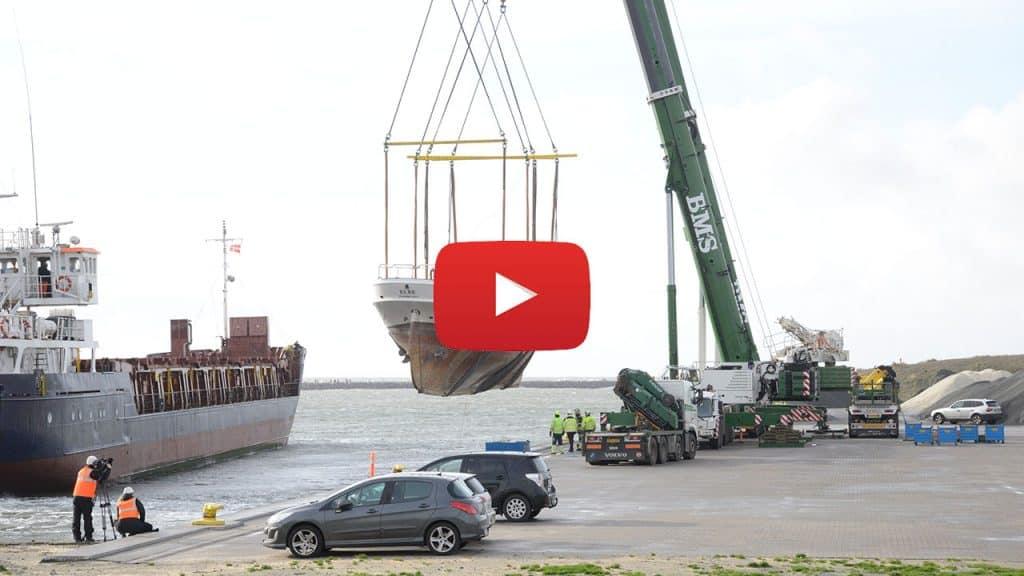 Lodsskonnerten »Elbe« er nu tilbage i Hvide Sande