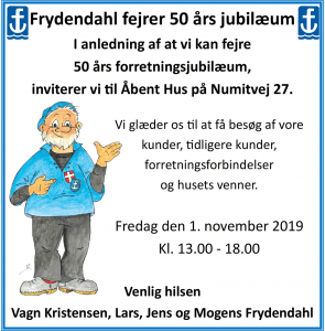 Frydendahl fejrer 50 års jubilæum