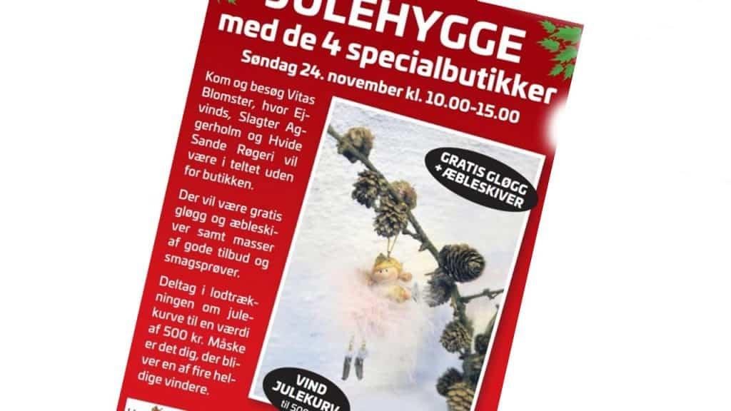De 4 specialbutikker julehygger i Hvide Sande den kommende weekend