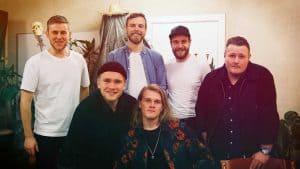 Karl Kristian & band giver koncert på hjemmebanen Generator