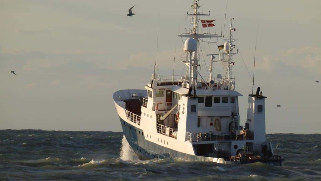 Fiskerikontrolskibet Vestkysten skal til en udskiftning og Hvide Sande Shipyard er med i opløbet om kontrakten