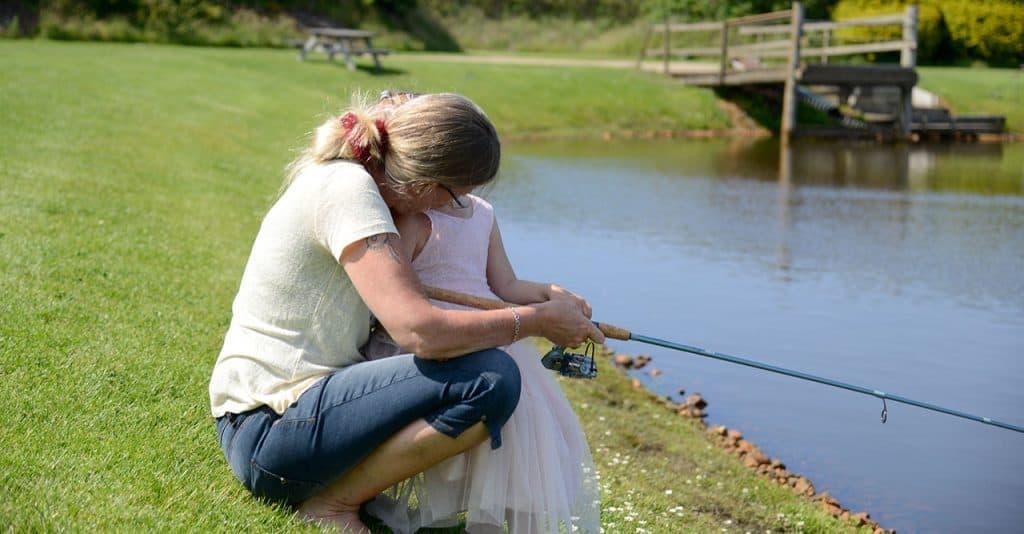 lystfiskeri familie