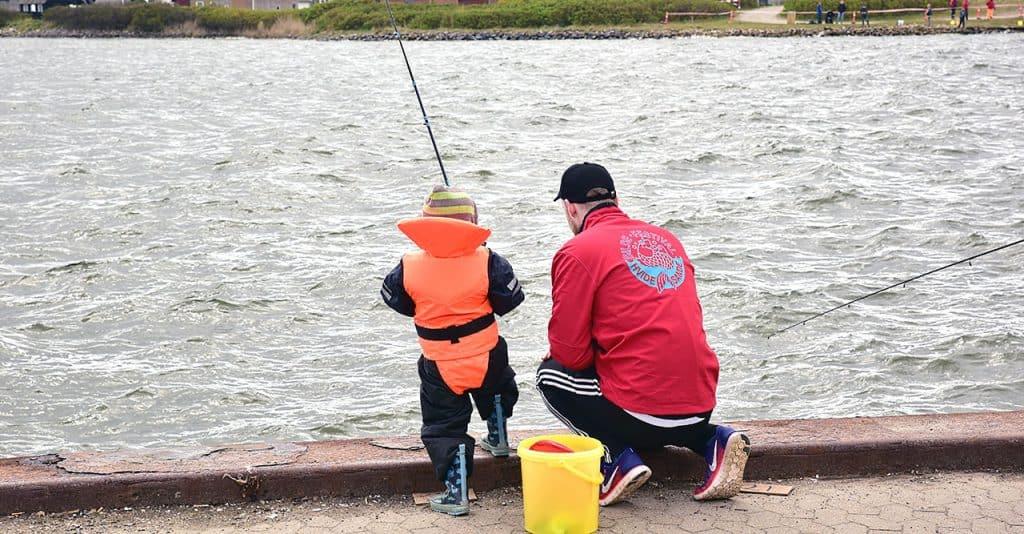 lystfiskeri hvide sande