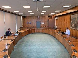 Første On-line byrådsmøde var en succes