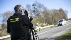 Fælleseuropæisk hastighedskontrol i denne uge