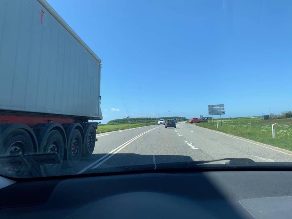 trafik Ringkøbing - Hvide Sande