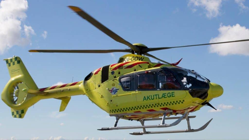 Akutlæge-helikopteren har fløjet til 17.500 patienter på fem år