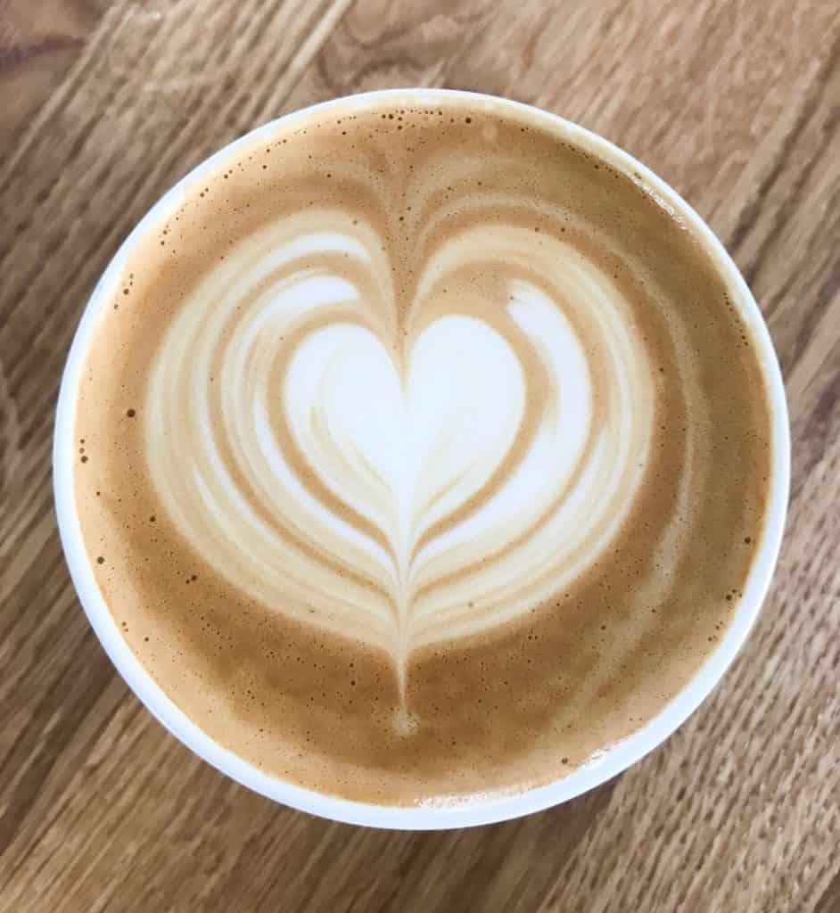 Her venter en smilende og meget venlig betjening til den helt unikke kaffeoplevelse