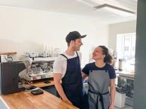En »kaffe-drøm« åbner nu i Hvide Sande
