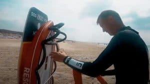 Nyt redningsudstyr ved Hvide Sande Sydstrand, skal redde badegæster fra at drukne