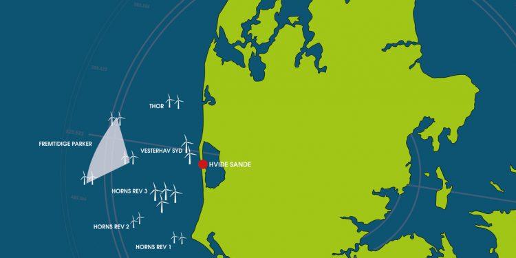 Hvide Sande Havn er den bedst placerede Havn, i forhold til Danmarks nuværende og fremtidige store havvindmølleparker på den jyske Vestkyst.