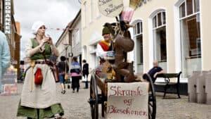Pibeorgel og jazz samt Skramleog Blæsekonen skaber liv i Ringkøbing