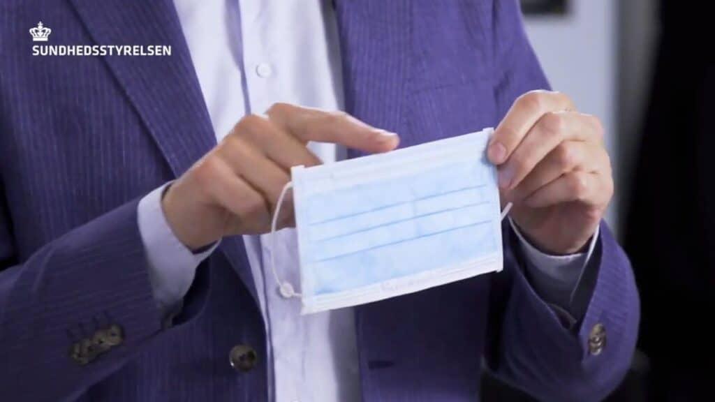 Brug af mundbind i offentlige transportmidler fra lørdag den 22. august