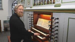 Tyske orgeltoner vil fylde kirkerummet i Helligåndskirken - foto: Kai Krakenberg fra Husumer Stadtkantorei