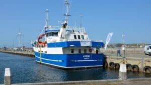 »Athene« fra Fiskeriskolen afholder »Åbent Skib« i Hvide Sande