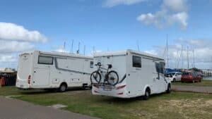 Ny autocamper-plads indviet i Bork