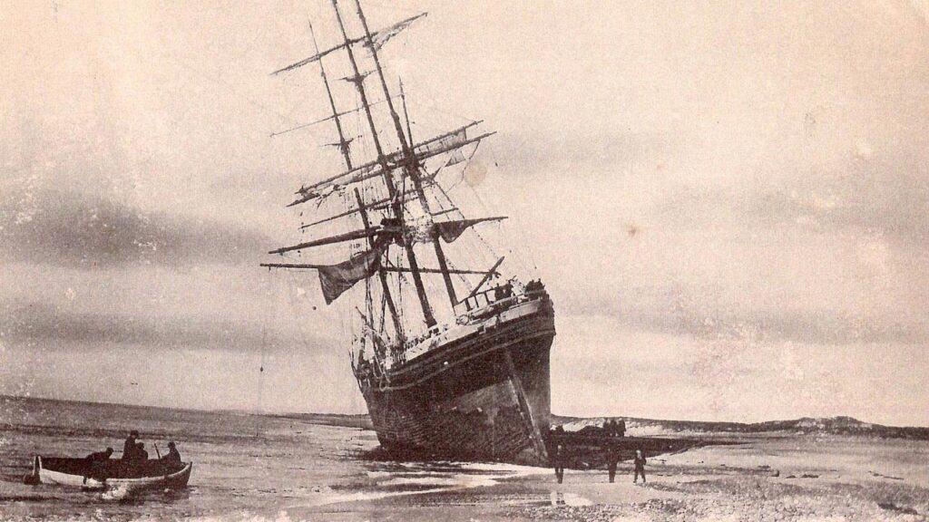 Historisk skibsklokke vender hjem til Abelines Gaard - foto: Elisabeth Rickmers