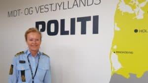 Pressebriefing i Vestjylland om Corona fredag formiddag - Foto: Midt- og Vestjyllands Politi - Helle Kyndesen