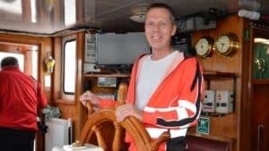 Som tredje generation af sejlende fragtfolk fra Fur, har Jens Nørgaard Nielsen arvet saltvandet i årene, efter farfaren Aksel Nørgaard Nielsen og sin far Poul Nørgaard Nielsen.