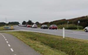 Stort trafikuheld ved Holmsborgvej