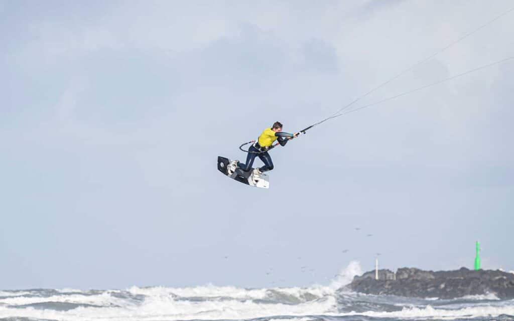Kitesurfere fordelte medaljer ved VM-stævne i Hvide Sande. - Foto : Brian Engblad
