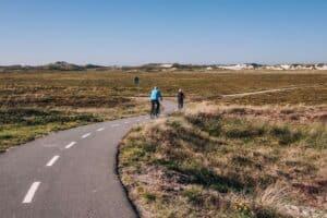Cykelsti blev indviet af cyklende politikere