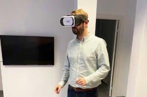 LokalBolig rykker fremvisningen hjem i stuen med Virtual Reality