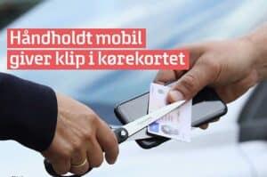 For mange bruger håndholdt mobil i trafikken