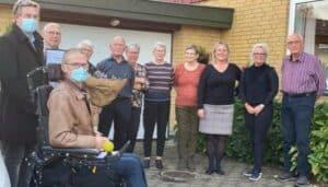 Spjald Plejehjems Vennekreds og Brugerråd samt Lennart Qvist