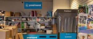 Pakkeudlevering - PostNord ved Kop og Kande i Hvide Sande