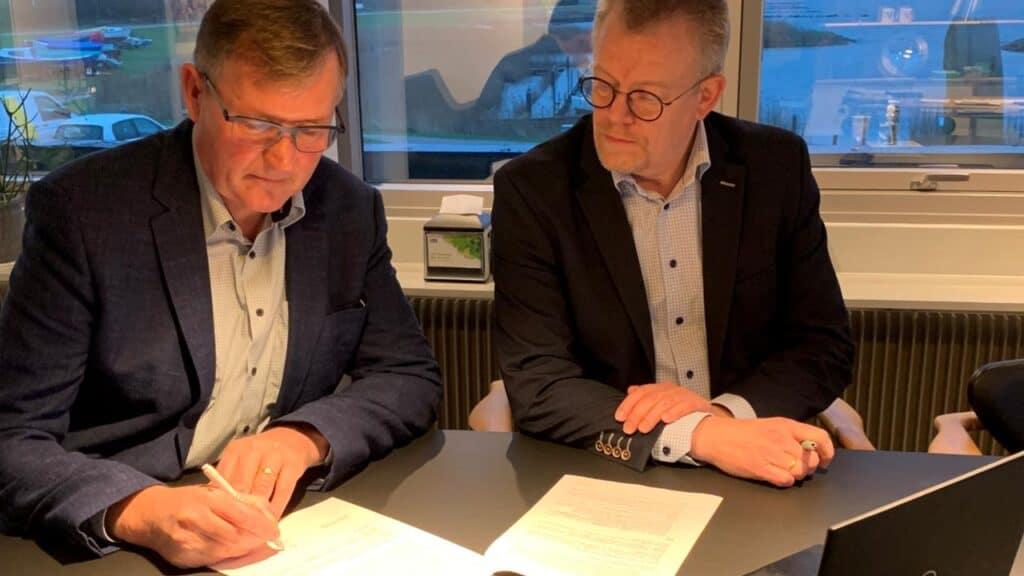 Ringkøbing-Skjern Kommune indgår ny EU-samarbejdsaftale. foto: NR