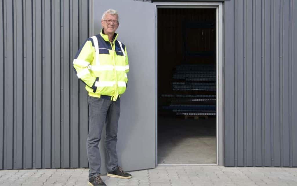 Steen Davidsen takker af efter 10 år ved Hvide Sande Havn foto: Steen Davidsen Hvide Sande Havn - FiskerForum.dk