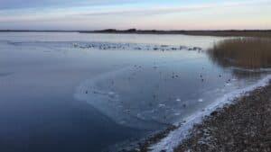 Isen er fortsat usikker mange steder