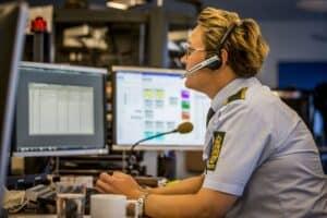 Advarsel: Svindler udgiver sig for at være fra Midt- og Vestjyllands politi modelfoto