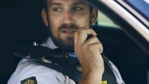 Politiet sigtede 579 for ikke at bruge sikkerhedssele under kørslen foto: politiet