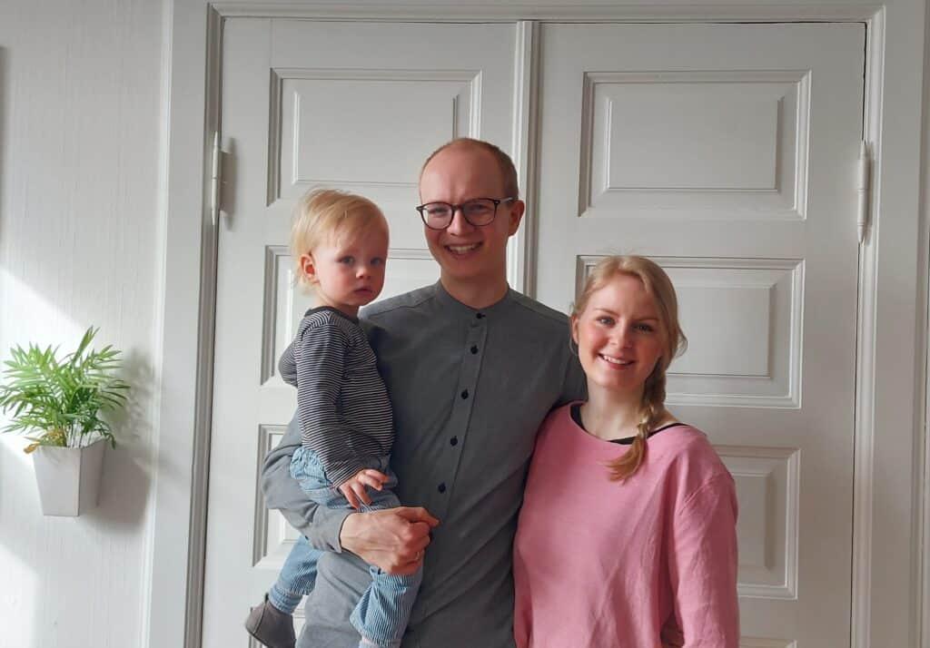 Ny sognepræst ansat på Klitten. Andreas Salholdt