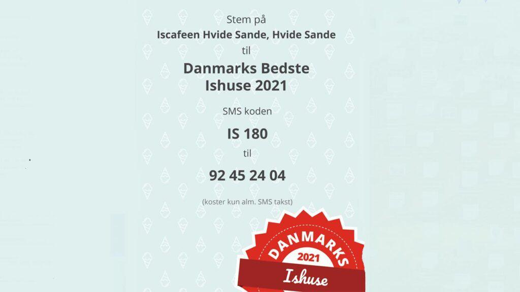 Lokal Iscafé i Hvide Sande er med i kampen om Danmarks bedste ishus