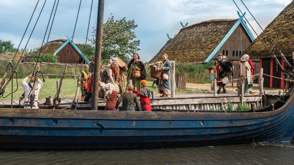 Rejs til vikingetiden i sommerferien
