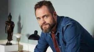Esben Dalgaard lægger stemme til ny digterrute. foto: Esben Dalgaard - Viaplay/TV3