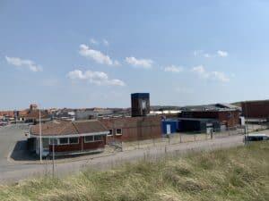 Thorfisk's gamle Fiskefabrik i Hvide Sande skal efter planerne blive til Europas største Surfbutik