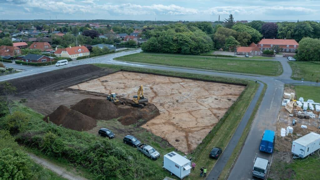 Kom og besøg arkæologernes udgravning ved Amtsmandens Allé i Ringkøbing